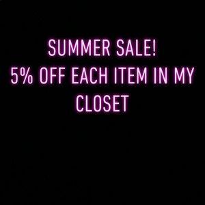 💰 Summer sale 💰